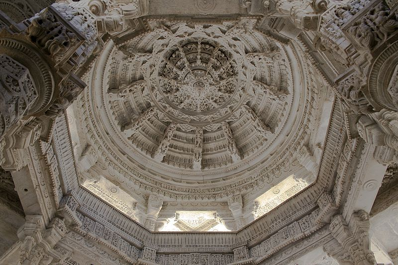 800px-Ranakpur_Jain_Temple_Ceiling_detail