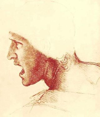 Study-of-a-figure-for-the-battle-of-anghiari