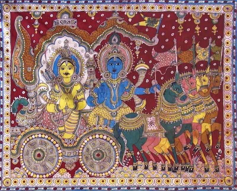Krishna-preaching-gita-to-arjuna-during-kurukshetra-QI64_l