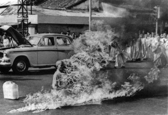 Self immolation Vietnam
