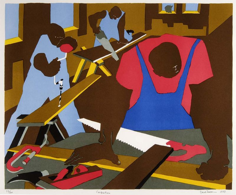 Capenters-jacob-lawrence