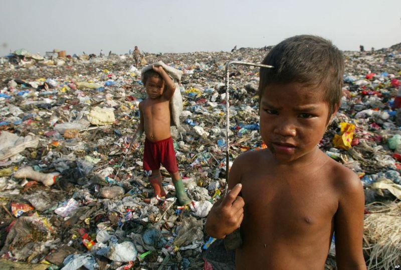 Waste pickers children