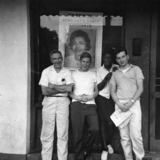 Civil rights volunteers