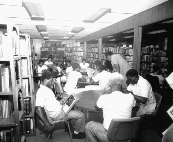 Prison in Florida library