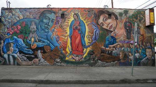 Virgin's Seed mural