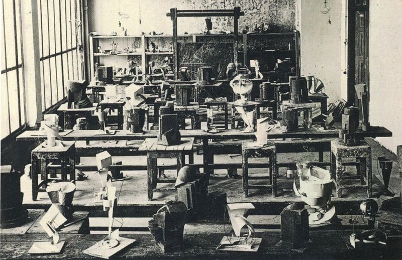 Studio Work at Vkhutemas, Moscow, (1928)