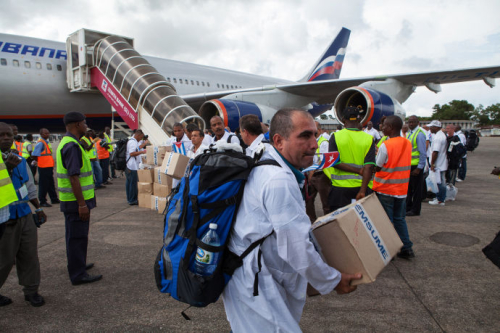 Cuban doctors west africa