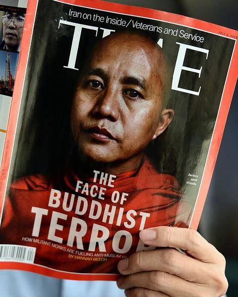 Buddhists in Myanmar