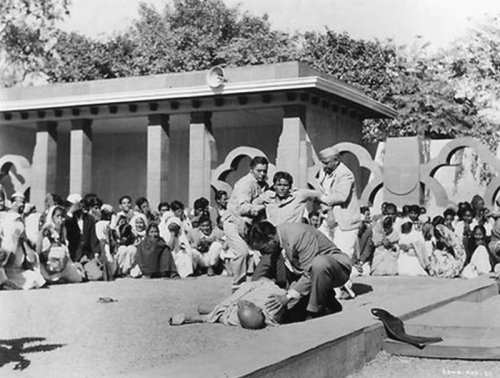 Gandhi's assassination