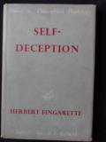 Fingarette self-deception