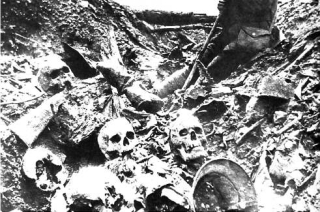 German remains WW 1