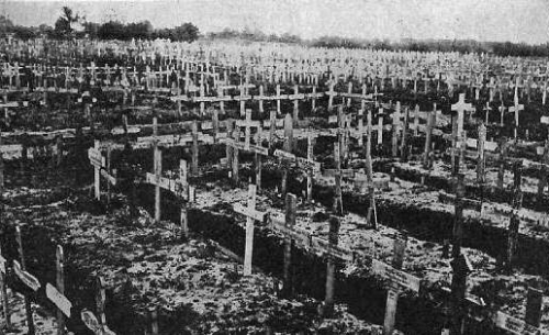 German cemetery WW 1