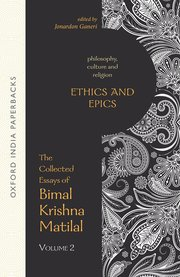 Matilal ethics and epics