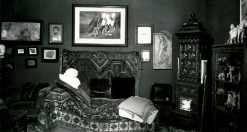 Freud's consulting room