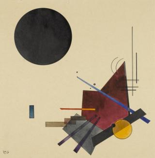 Wassily-Kandinsky-Wassily-Kandinsky-Schwarze-Beziehung-1924