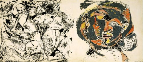 Pollock portrait-and-a-dream-1953