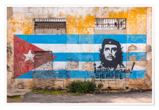 Cuban revolution mural