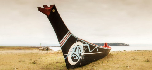 Makah canoe