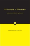 Philosophy as therapeia