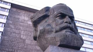 Marx statue 2