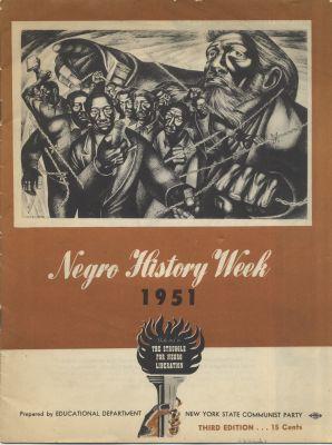 White Negro History Week 1951 Douglass