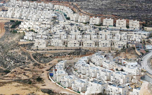 Israeli settlement on West Bank