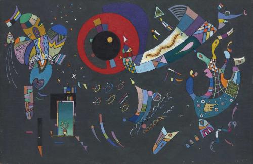 Wassily-Kandinsky-Esquisse-pour-Autour-du-cercle-April-1940