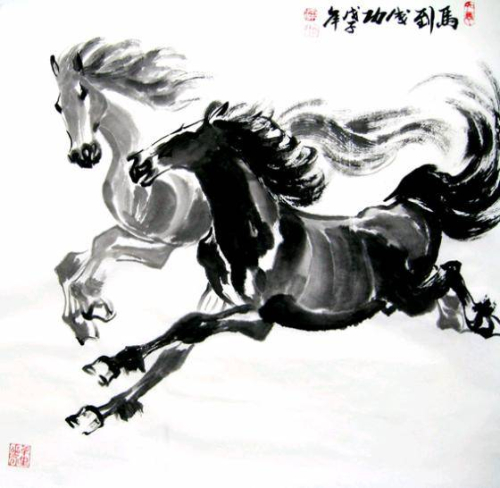 Chinese horses 2