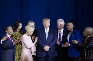 Christian evangelicals for trump