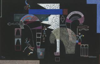 Wassily-Kandinsky-La-Forme-Blanche-February-1939