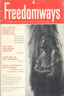 White Freedomways negro woman in american lit