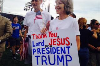 Christian evangelicals for trump 2