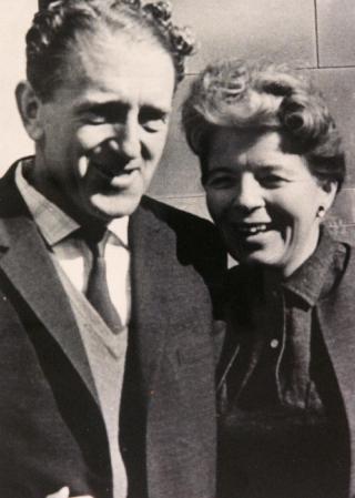 Hilda Bernstein and Rusty