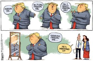 Trum pardon