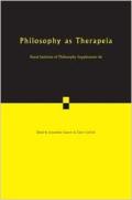 Philosophy as therapeia